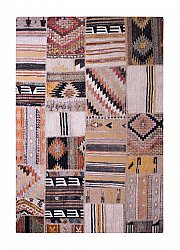 Matto 133 x 190 cm (wilton) - Tibet Patch (multi)