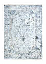 Matto 160 x 230 cm (wilton) - Colourful Medallion (harmaa)