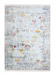 Matto 160 x 230 cm (wilton) - Colourful Frame (multi)