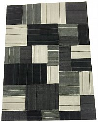 Patchwork - Superior new wool Patchwork (musta)