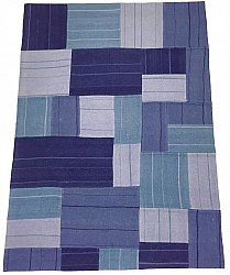 Patchwork - Superior new wool Patchwork (sininen)