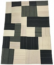 Patchwork - Superior new wool Patchwork (harmaa)
